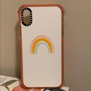 Casetify rainbow case ultra impact case iPhone XR